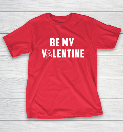 Star Trek Be My Valentine Delta Badge Graphic T-Shirt 9