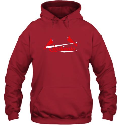 tfhp cardinal sports shirtst louis baseball fan hoodie 23 front red