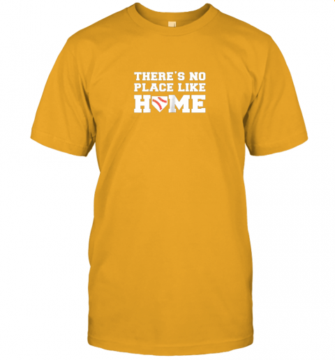 yrmz there39 s no place like home baseball shirt kids baseball tee jersey t shirt 60 front gold