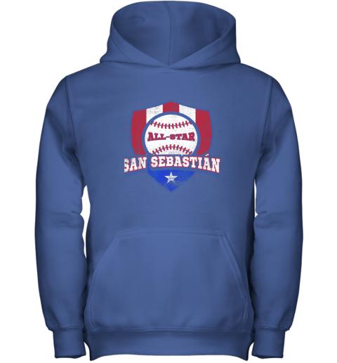 jv9h san sebastian puerto rico puerto rican pr baseball youth hoodie 43 front royal