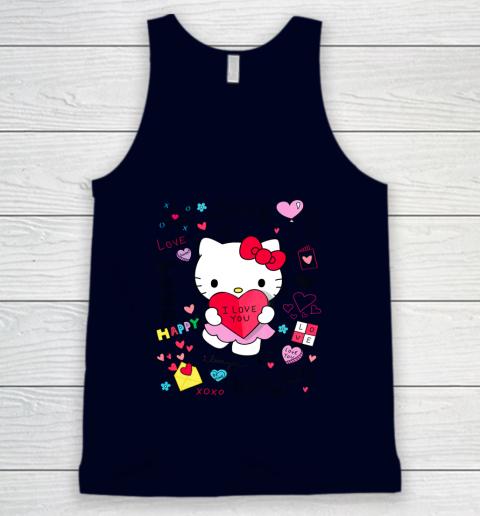Hello Kitty Love Notes Valentine Tee Tank Top 2