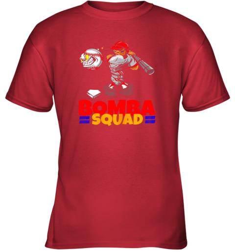 qt7r bomba squad twins shirt for men women baseball minnesota youth t shirt 26 front red