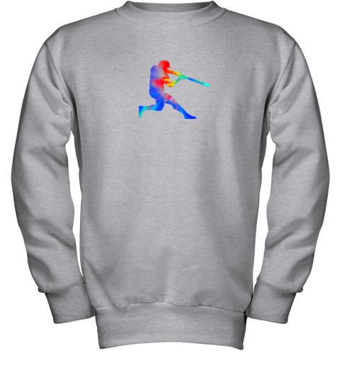 c7yp tie dye baseball batter shirt retro player coach boys gifts youth sweatshirt 47 front sport grey