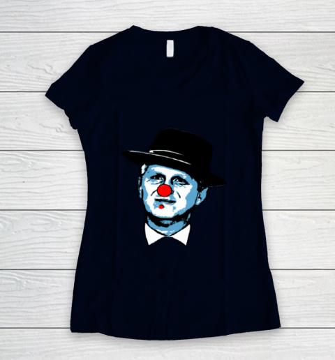 Michael Rapaport Clown Women's V-Neck T-Shirt 2