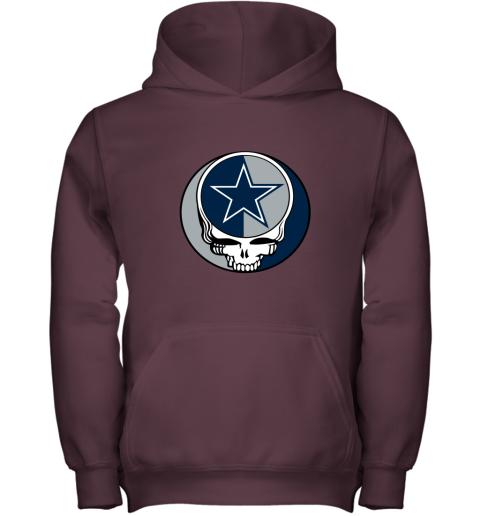 NFL Team Dallas Cowboys x Grateful Dead Youth Hoodie