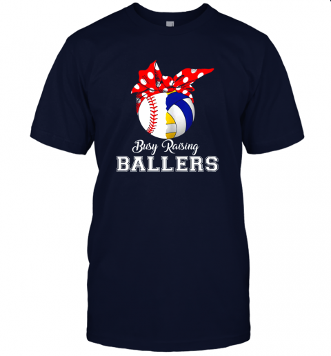 o052 baseball volleyball busy raising ballers shirt mothers day jersey t shirt 60 front navy