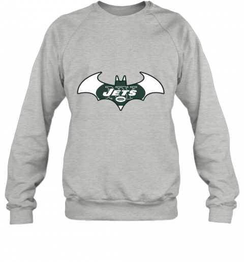 l5vy we are the new york jets batman nfl mashup sweatshirt 35 front ash