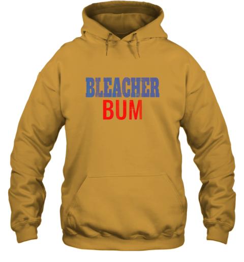 rsls bleacher bum original chicago baseball distressed hoodie 23 front gold