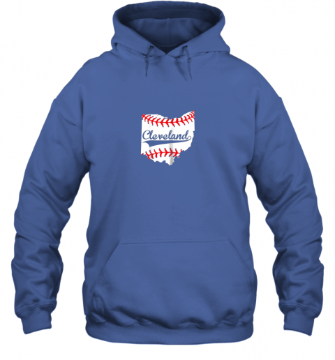 qiqu cleveland ohio 216 baseball hoodie 23 front royal