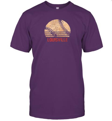 sm8l vintage baseball louisville shirt cool softball gift jersey t shirt 60 front team purple
