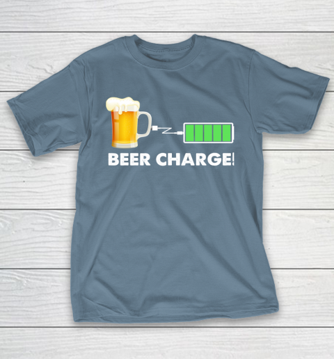 Beer Lover Funny Shirt Beer Charge T-Shirt 6