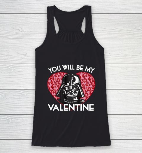 Star Wars You Will Be My Valentine Darth Vader Racerback Tank