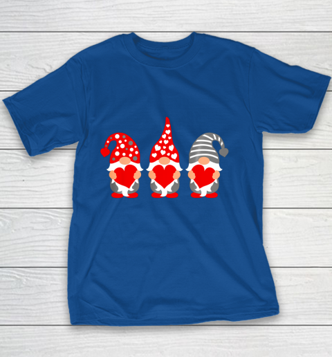 Gnomes Hearts Valentine Day Shirts For Couple Youth T-Shirt 6
