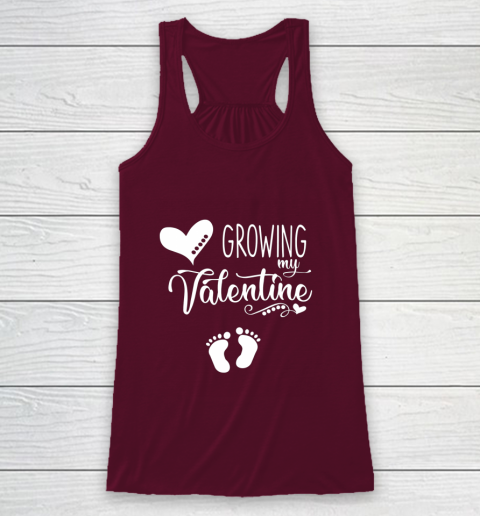 Growing my Valentine Tshirt for Wife Racerback Tank 2