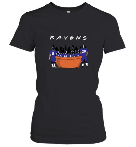 The Baltimore Ravens Together F.R.I.E.N.D.S NFL Women's T-Shirt