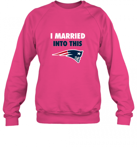 opal i married into this new england patriots football nfl sweatshirt 35 front heliconia