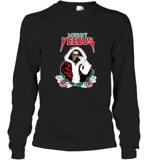 MERRY YEEZUS UGLY CHRISTMAS Long Sleeve T-Shirt