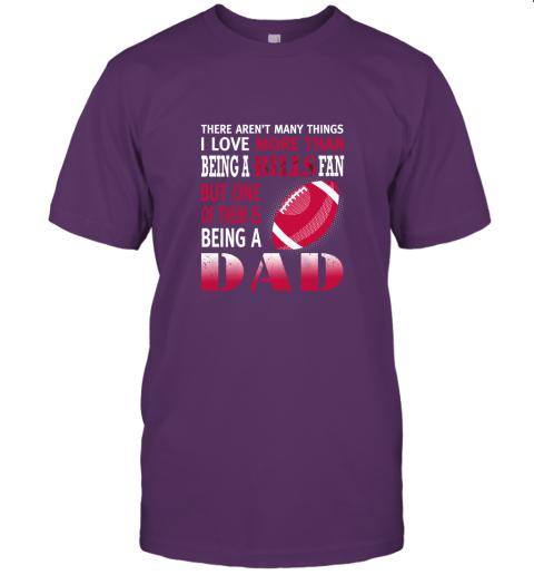 sspd i love more than being a bills fan being a dad football jersey t shirt 60 front team purple