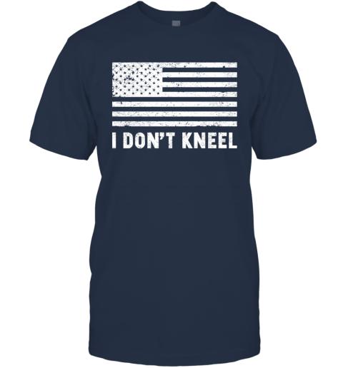 I Don_t Kneel USA Flag T-Shirt