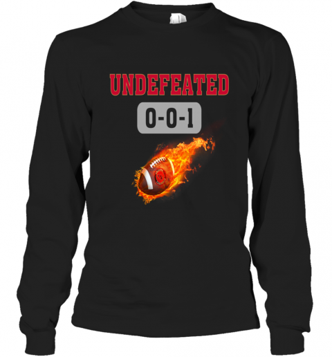 NFL ARIZONA CARDINALS Logo Undefeated Long Sleeve T-Shirt