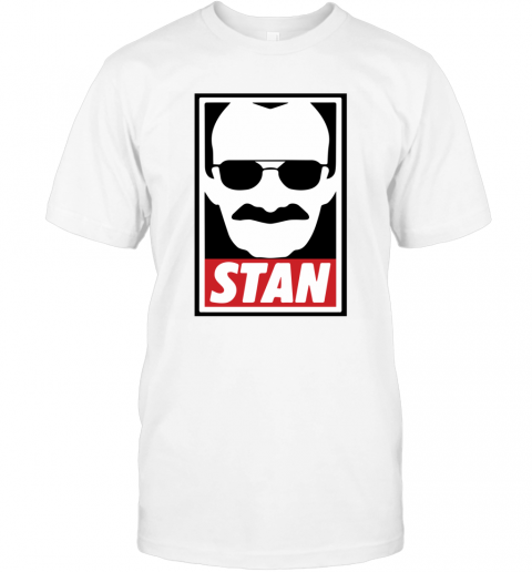 Stan Lee Shirt Marvel Comic Spider Man Our Hero T-Shirt