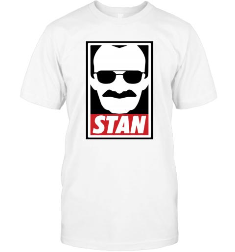 Stan Lee Shirt Marvel Comic Spider Man Our Hero T-Shirt