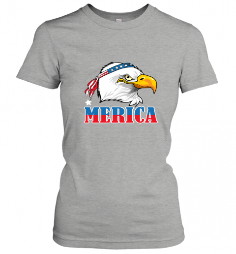 Eagle Mullet 4th Of July American Flag Merica USA Women's T-Shirt
