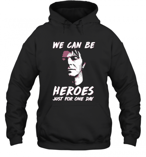 omwr david bowie we can be heroes just for one day shirts hoodie 23 front black