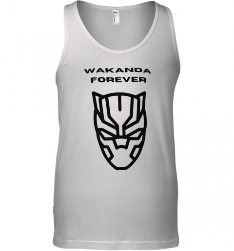 Wakanda Forever Black Panther Rip Chadwick Dead Tank Top