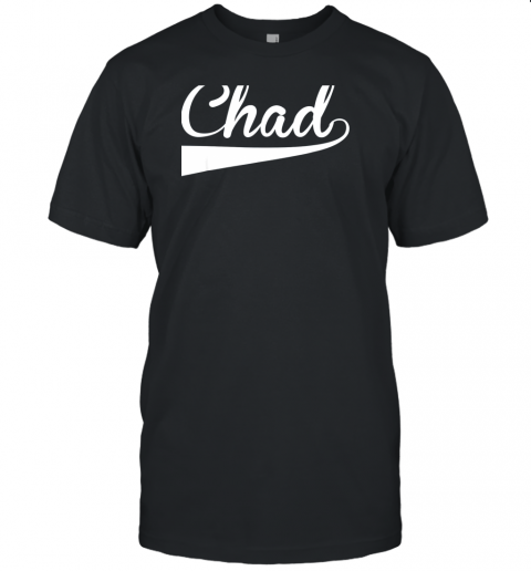 CHAD Country Name Baseball Softball Styled Unisex Jersey Tee