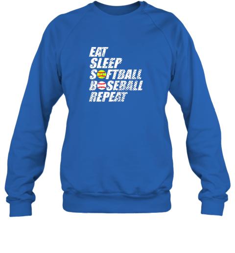 0sow softball baseball repeat shirt cool cute gift ball mom dad sweatshirt 35 front royal