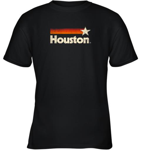 Houston Texas Shirt Houston Strong Shirt Vintage Stripes Youth T-Shirt