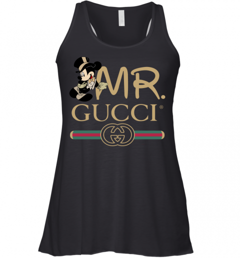 Gucci Couple Disney Mickey Valentine's Day Gift Womens Racerback Tank Top