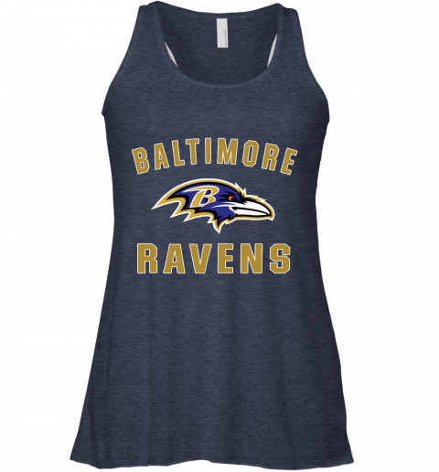 u0vf mens baltimore ravens nfl pro line by fanatics branded gray victory arch t shirt flowy tank 32 front heather navy