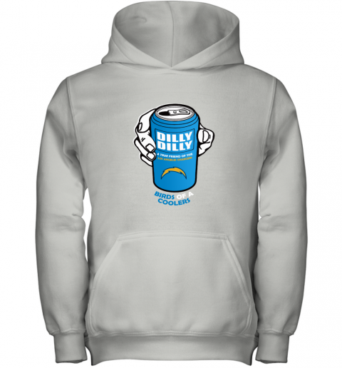 Bud LighT Dilly Dilly! LOS ANGELES CHARGERS Birds Of A Cooler Youth Hoodie