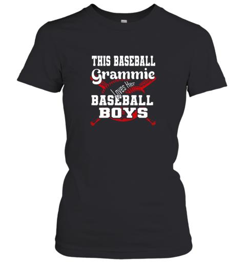 This Baseball Grammie Loves Her Baseball Boys Women's T-Shirt