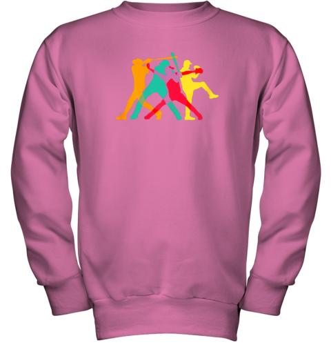 mop6 vintage baseball shirt gifts youth sweatshirt 47 front safety pink