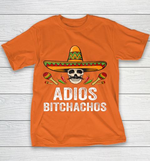Adios Bitchachos Shirt Funny Mexican Skull Cinco De Mayo Youth T-Shirt 4