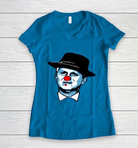 Barstool Rappaport Shirt Women's V-Neck T-Shirt 5