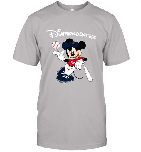 Baseball Mickey Team Arizona Diamondbacks Unisex Jersey Tee