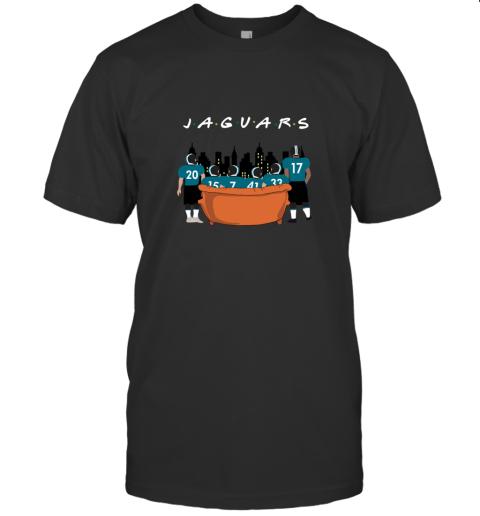 Jacksonville Jaguars Together F.R.I.E.N.D.S NFL T-Shirt