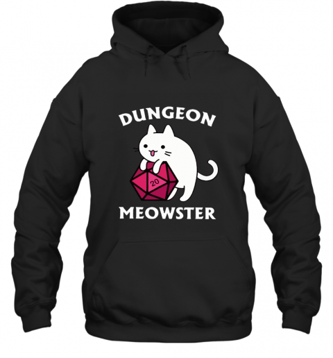 Dungeon _ Dragons Dungeon Meowster Master Cat Hoodie