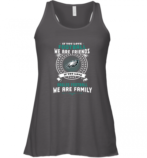 jtlk love football we are friends love eagles we are family flowy tank 32 front dark grey heather