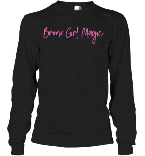 Jennifer Lopez Bronx Girl Magic Long Sleeve T-Shirt