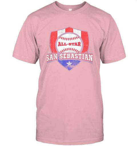 j91v san sebastian puerto rico puerto rican pr baseball jersey t shirt 60 front pink