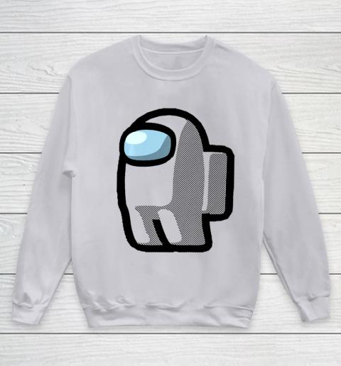 Imposter Among Gamer Us Impostor Sus Youth Sweatshirt 2