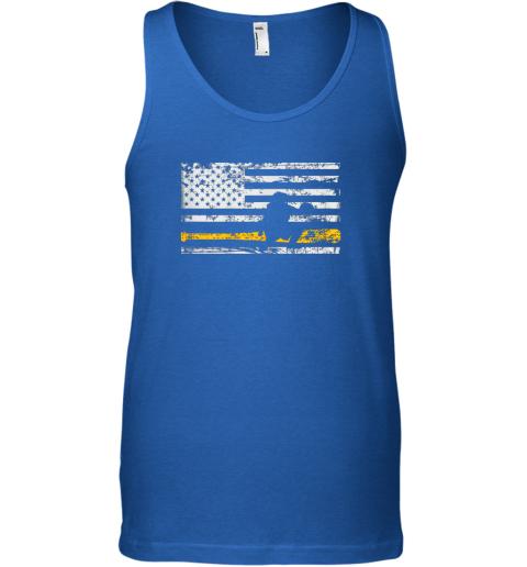 jkis softball catcher shirts baseball catcher american flag unisex tank 17 front royal