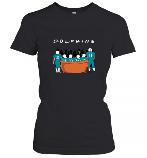 The Miami Dolphins Together F.R.I.E.N.D.S NFL Women's T-Shirt