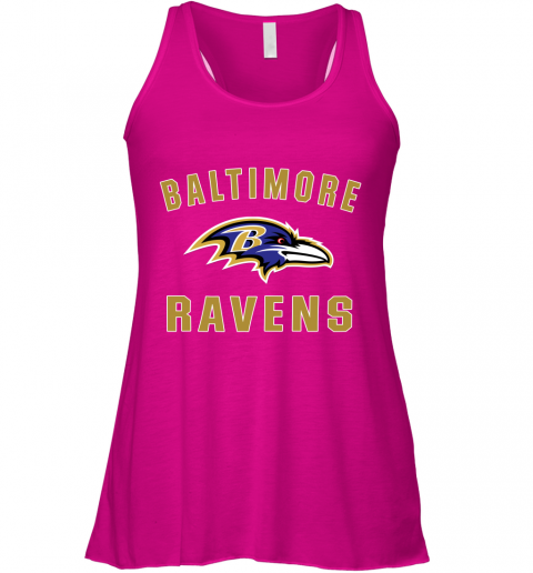 u0vf mens baltimore ravens nfl pro line by fanatics branded gray victory arch t shirt flowy tank 32 front neon pink
