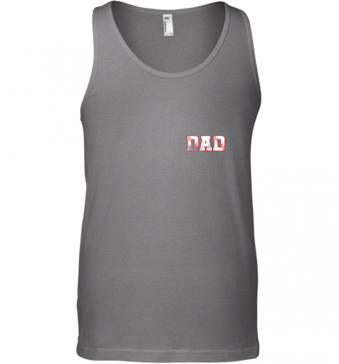 plxh mens baseball inspired dad fathers day distressed unisex tank 17 front graphite heather
